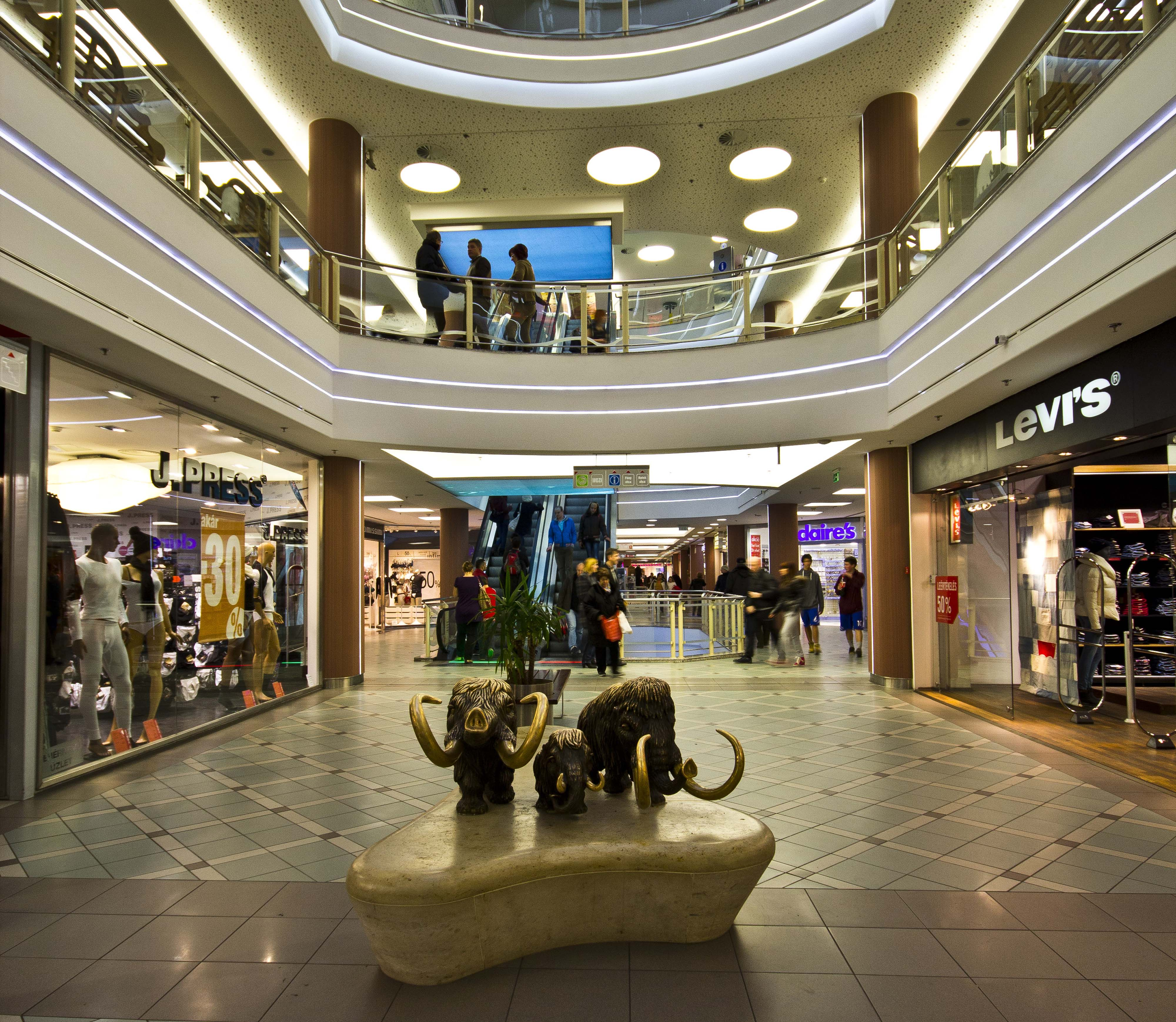 Bevásárló központok